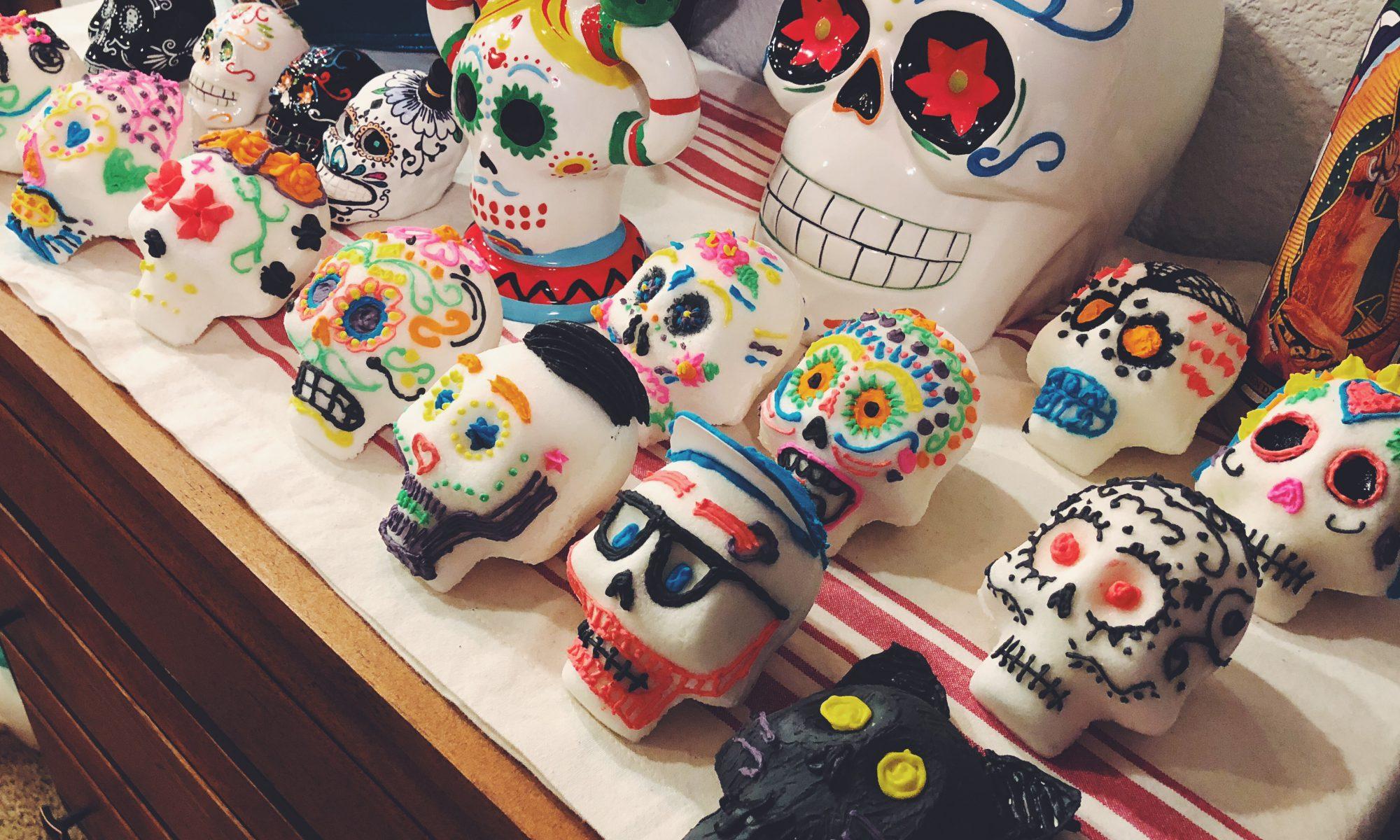 Calaveras for Día de los Muertos