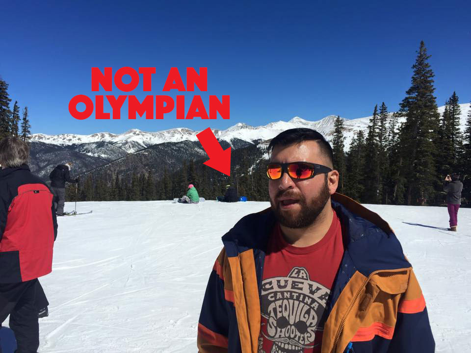 Mike is not an Olympian