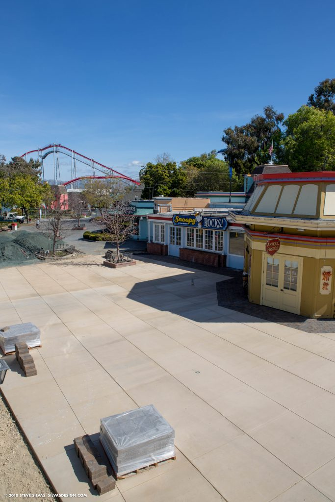 Midway upgrades at California's Great America in the off-season