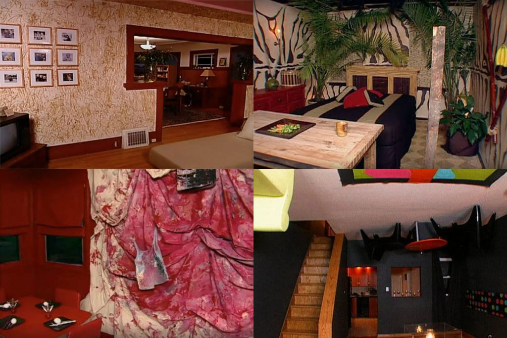 Some of the... err... interesting design choices from the original run of Trading Spaces (TLC)