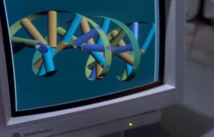DNA Helix from Jurassic Park / © Universal