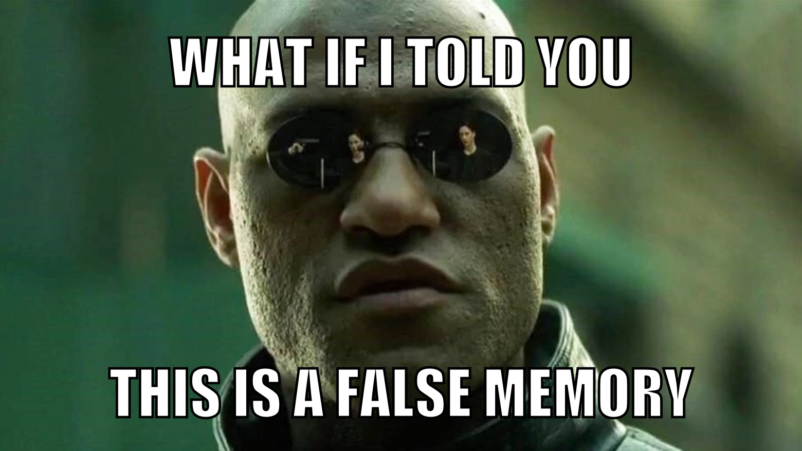 What if I told you this is a false memory