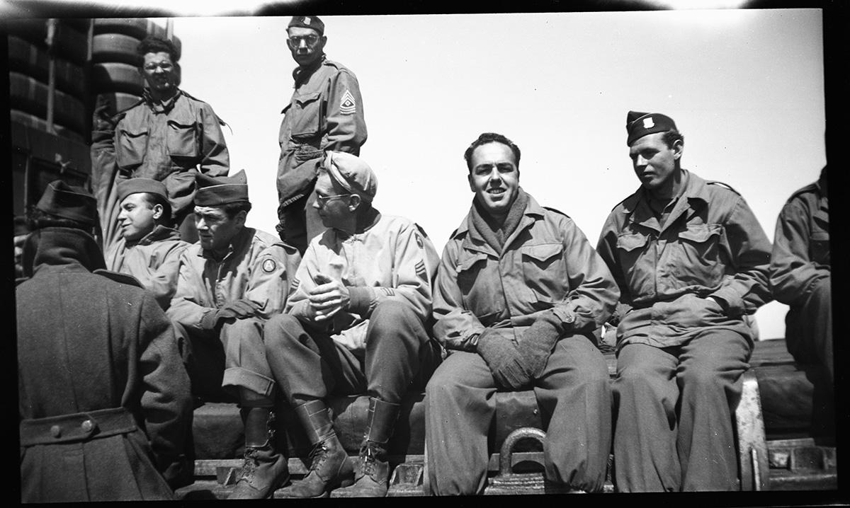 Harold Silvas - WWII Vet